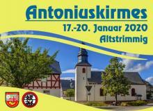 Antoniuskirmes vom 17. bis 20. Januar 2020